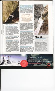 Article in Climbing Magazine 2010