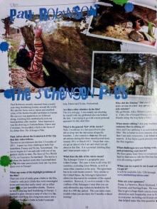 Dead Point Magazine Article 2011