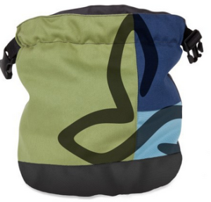 chalk bag designed for prAna by Paul Robinson