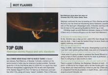 Hot Flashes, Climbing Magazine 2008