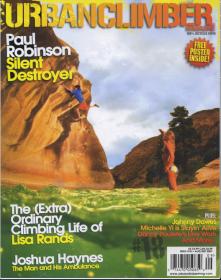 Urban Climber Magazine Cover 2007
